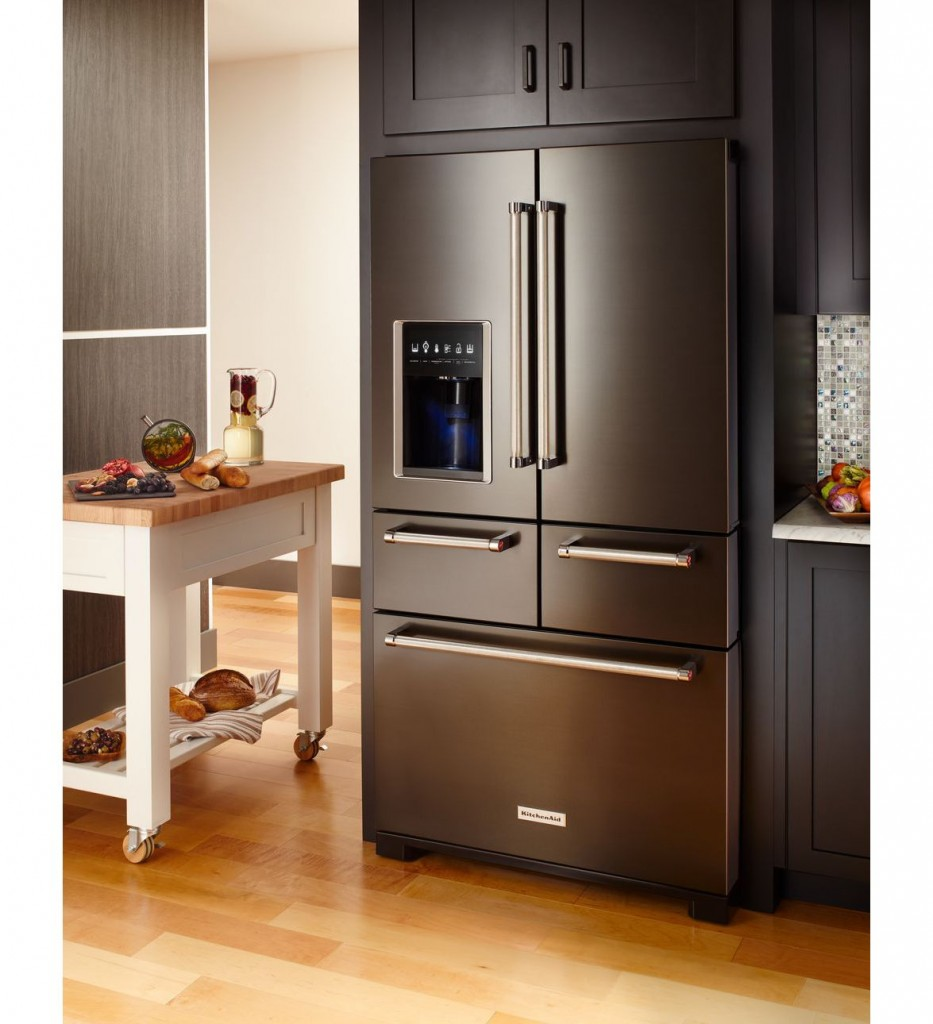 Multi-door-fridge-kitchenaid