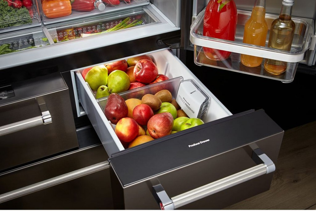 multi-door-fridge-mini-drawer-kitchenaid