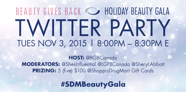 beauty-gala-shoppers-drug-mart-twitter-party