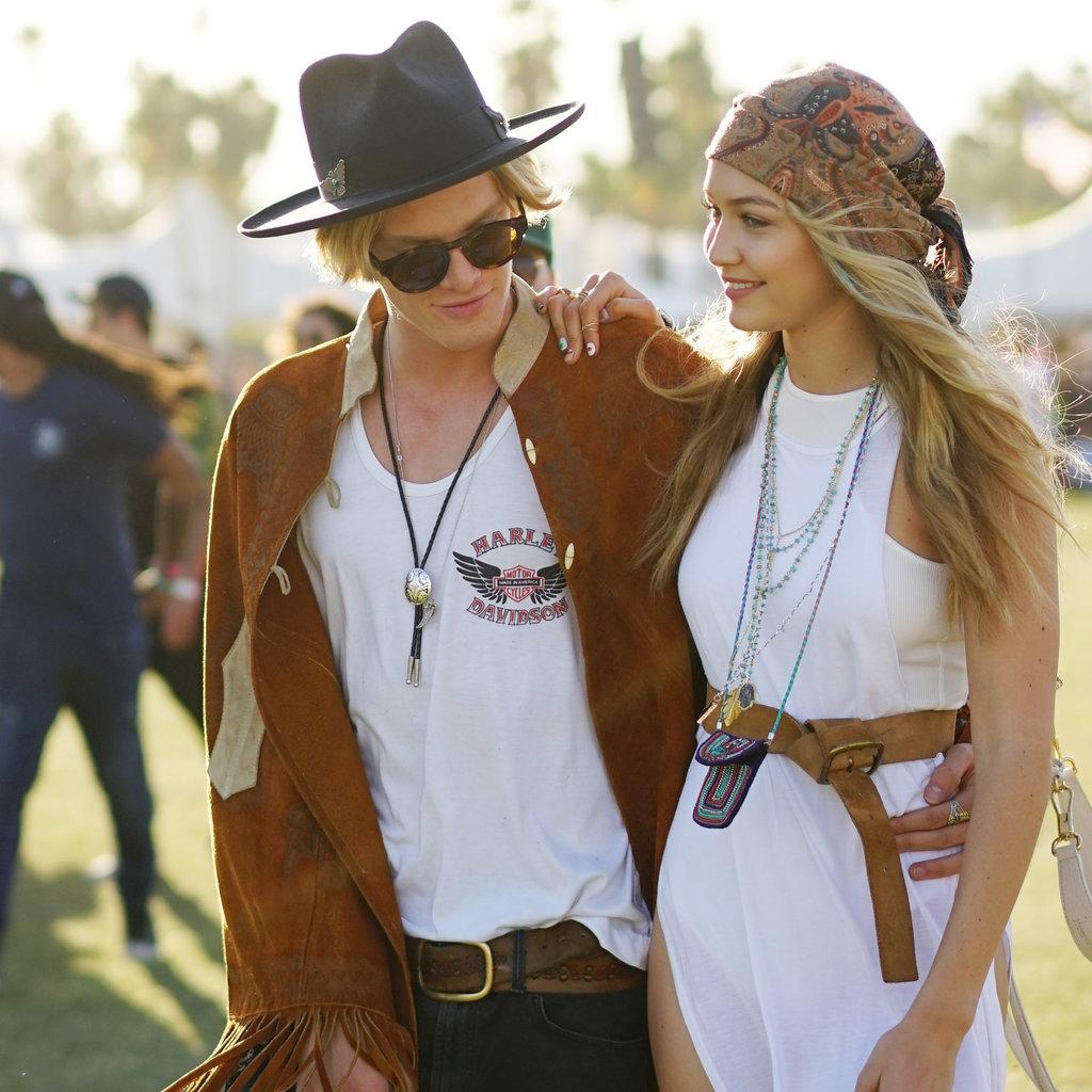 H und m hippie kleid